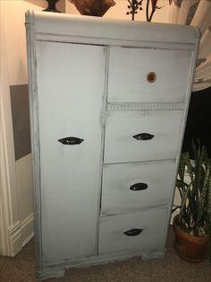 Chalk paint armoire