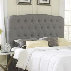 Found it at Wayfair - Pamelia Upholstered Headboard