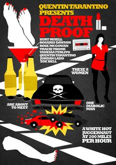 Death Proof [Quentin Tarantino, 2007] «Tarantino Author: Hexagonall»