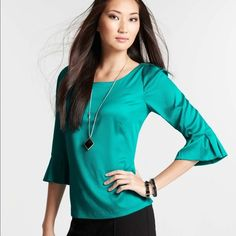 Ann Taylor NWT blouse ☘☘ Brand new with tags. Size 2. Ann Taylor Tops