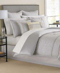 Martha Stewart Collection Palace Scroll 9 Piece Comforter Sets | macys.com