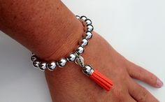 Funky Tassel Charm Bracelet