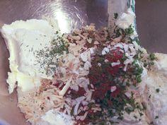 greek yogurt vegetable dip ~homemade and no seasoning packets