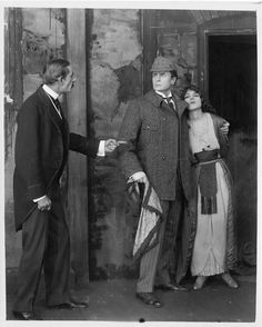 Sherlock Holmes 1916 with William Gillette. Recently found and restored and available on bluray.