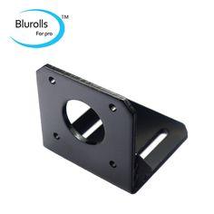 42 stepper motor fixed bracket holder strengthen steel black color motor cabinet/base /frame 3mm thick