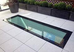 Aluminium Walk On Glass Roof light TRADE Made To Measure