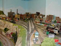 model railroad city scenery | Model Railroad Photos From The 2008