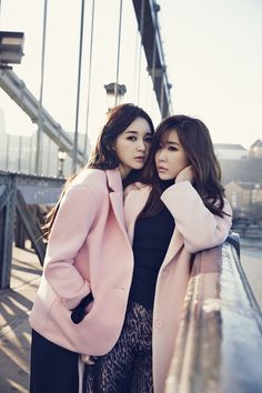DAVICHI - 1st Look Magazine February Issue '15