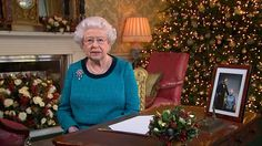 """The Queen's Christmas Message, London - """"Traditionally broadcast at 3:00 PM GMT on Christmas Day, the Queen typically uses the speech as a chance to reflect on the year and the major events that have occurred throughout it. She also makes a comment on her own personal milestones of the year and expresses her opinion on Christmas in general."""""""