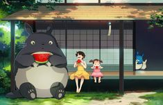 Totoro has made cameo appearances in other movies outside of Studio Ghibli. Description from deviantart.com. I searched for this on bing.com/images