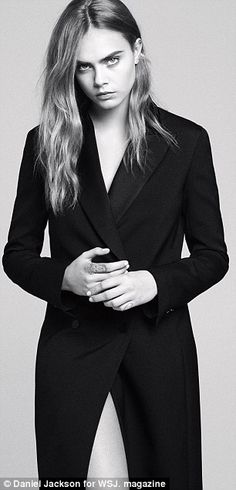 Model-turned-actress Cara Delevingne  stars in stunning photoshoot #dailymail