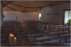Indoor ceremony in T of barn Farm Wedding, Rustic Wedding, Wedding Venues, Wedding Ideas, Indoor Ceremony, Barn, Wedding Photography, Wedding Reception Venues, Wedding Places