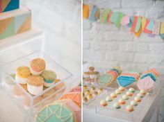 geometric cookies