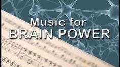 Music for Brain Power - YouTube
