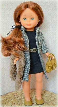 Anita, moda para invierno. Nancy Ion Fiz, su melena es pelirroja. American Girl, Pram Toys, Nancy Doll, Doll Crafts, Girl Doll Clothes, Vintage Dolls, Beautiful Dolls, Couture, Disney Princess