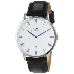 Daniel Wellington Unisex 1121DW 'Dapper Sheffield' Black Watch
