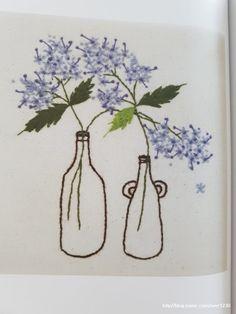 그리움이 자수가 되다 작가 강순이 출판 팜파스 발매 2017.06.02. 리뷰보기 날씨가 더워지고 있네요 햇살이... Cross Stitching, Cross Stitch Embroidery, Sewing Material, Hand Embroidery Patterns, Satin Stitch, Abstract Flowers, Embroidered Flowers, Vases, Needlework