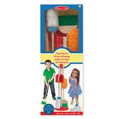 17.49 € : Set de ménage Melissa and Doug pour enfant de 3 ans à 7 ans - Oxybul éveil et jeux