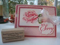 stampin up love   Stampin' All Night: Stippled Blossoms makes beautiful cards