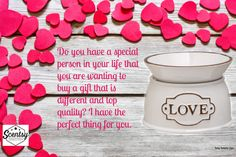 Scentsy love! £28 warmer. Please see my website and contact me with any questions. www.smoremelts.scentsy.co.uk