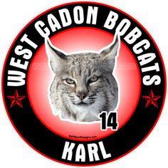 Bobcat Wildcat car window decals magnets wall decals yard signs apparel. Fundraising! Free Ship offer!http://www.allsportdesigns.com/Bobcat-wildcat-car-window-sticker-decals-magnets-p/bobcat101-c.htm