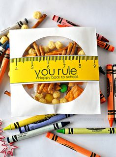You rule! Happy Back to school printable from www.thirtyhandmadedays.com