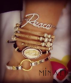 Peace, Marrakech & Guadalupe Bracelets