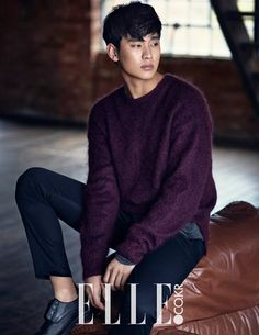 More Of Kim Soo Hyun For The January 2015 Issue Of Elle Korea | Couch Kimchi