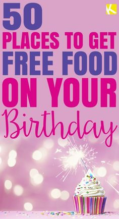 Who doesn't like the gift of free food? Since restaurant deals vary by location, we strongly urge you to call ahead and make sure a. Freebies On Your Birthday, Free Birthday Food, Birthday Deals, It's Your Birthday, Restaurant Deals, Get Free Stuff, Free Things, Food Hacks, Good To Know