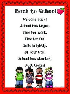 Back to School Poems and Writing (Distance Learning & Google Slides) Digital