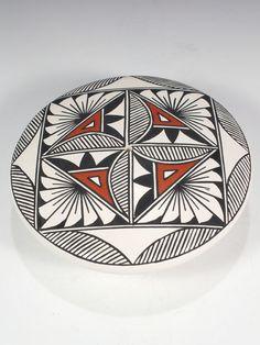 Acoma Pueblo Pottery by B. Aragon
