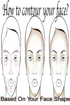 Discover your face shape & the best way to contour!