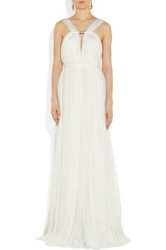 Lanvin | Ruched silk-blend tulle gown | NET-A-PORTER.COM $9832