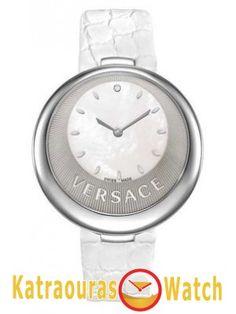VERSACE www.katraouras.gr Omega Watch, Versace, Bracelet Watch, Watches, Diamond, Accessories, Prince, Stainless Steel, Wristwatches