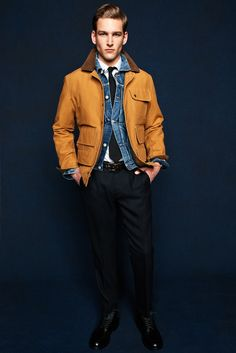 J.Crew Fall 2012 Menswear Fashion Show