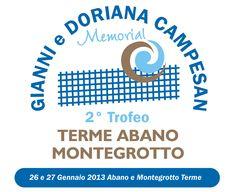 La locandina ufficiale del 2. Trofeo delle Terme Abano Montegrotto - Memorial Gianni e Doriana Campesan
