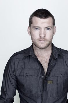 Immortal Guardians Dream Cast: Would love to see Sam Worthington play twins Richart and Étienne if my Immortal Guardians books are made into films. Beautiful Men, Beautiful People, League Of Extraordinary Gentlemen, Sam Worthington, Good Looking Actors, Suit Shirts, Hollywood Actor, Dream Guy, Celebs