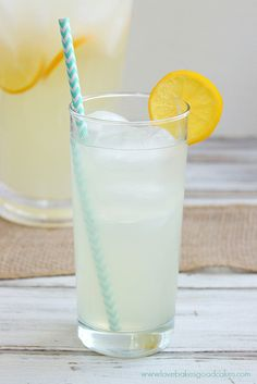 Perfect Lemonade - Is there a more cool and refreshing drink when the weather warms up?! This lemonade has the perfect balance of sweet and ...