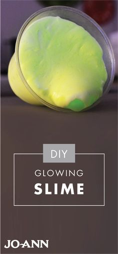 Ooey, gooey, and oh-so fun, this DIY Glowing Slime craft idea would be a great activity for your kids. Grab the glue and neon fabric paint from Jo-Ann to get started with this creative project.