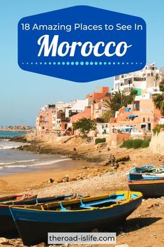 Exotic desert fortresses, laid back surf towns, bustling cities and spectacular mountains, whatever type of adventure you are seeking Morocco is sure to have something for everyone! Here are 18 amazing places to visit in Morocco for your bucket list! | moroccotravel | visitmorocco | marrakech | chefchaouen | aitbenhaddou | essaouira | ergchebbi Morocco Travel, Africa Travel, Marrakech, Cool Places To Visit, The Good Place, Travel Inspiration, Surfing, The Incredibles, Adventure