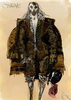 Costume de danse de Christian Lacroix