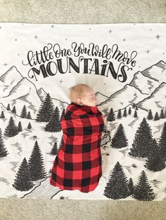Little one you will move mountains Muslin cotton swaddle Extra large - Baby Car Seats Newborn -Ideas of Baby Car Seats Newborn - Little one you will move mountains Muslin cotton swaddle Extra large Baby Boys, Baby Boy Rooms, Baby Boy Nurseries, Babies Rooms, Kid Rooms, Carters Baby, Shower Bebe, John David, Move Mountains