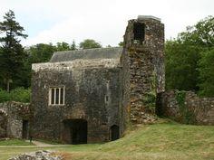 Outbuilding. Berry Pomeroy Castle, Devon, England.