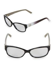 93ce474fa3 51MM Cat-Eye Optical Glasses by Gucci at Gilt