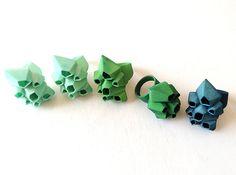 Picoroco Ring - Sz 7 3d printed Jewelry Rings Barnacle Rings in custom colors
