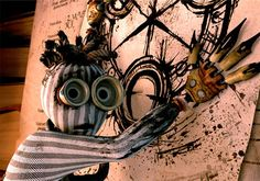 """9 is set in a post-apocalyptic dystopia where a world war between humans and machines has left the earth decimated and dreary. The """"stitchpunks"""" (1 through 9) and """"The Beast"""" (a dog-like machine-thing) are the only signs of life, until 9 inadvertently awakens a maniacal mechanical monster. Each of the numbers seem to have his or her own way to deal with the dangers of the world they find themselves in, but cooperation seems to be the only way to avert imminent doom."""