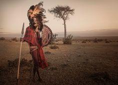 Standing proud in Maasai Mara, Kenya ©Panos Laskarakis