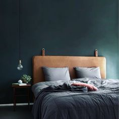 #them #headboard #bythornam #leather #handmade #design #madeindenmark