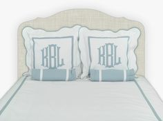 Leontine Linens Monogrammed Pillows