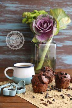 Çikolatalı Kestaneli Muffin